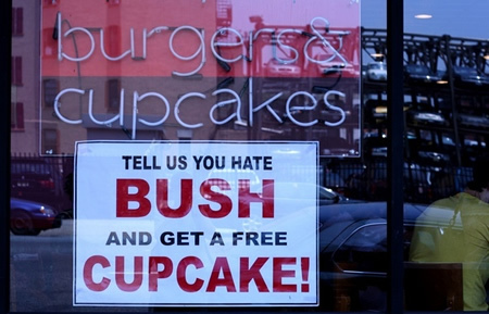 Fast food anti bush